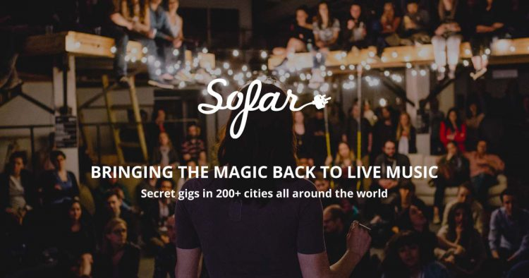Sofar Sounds Concert